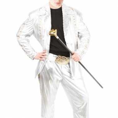 Carnaval zilveren kostuum kinderen