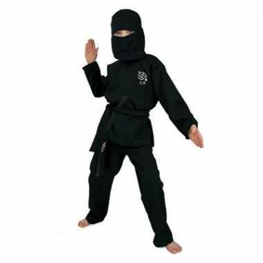 Carnaval  Zwart Ninja kostuum kids