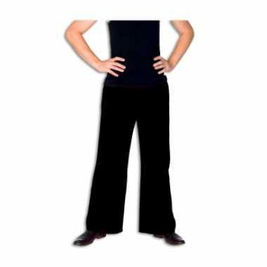 Carnaval  Zwarte broek heren kostuum