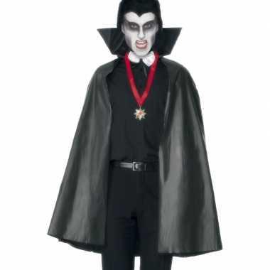 Carnaval  Zwarte vampieren mantels kostuum