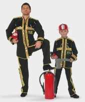 Brandweer carnavalskostuum kind