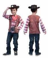 D western shirt kinderen
