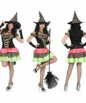 Gekleurde oktoberfest jurk dames