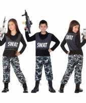 Politie swat verkleed kostuum kostuum kinderen