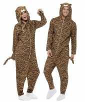 Pyamakostuum tijger dames heren